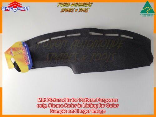 Black Dashmat for SUBARU liberty L 1//1989-5//1994 Dash Mat DM364