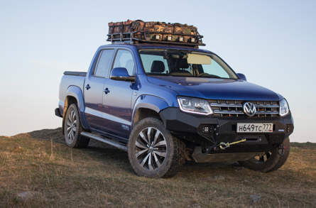 VW Amarok Rival Bar by Drivetech 4x4 Premium Winch Bullbar With Recovery  Points