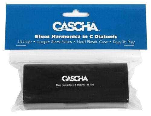 CASCHA HH 2007 Blues Harp Mundharmonika C-Dur