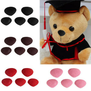 Details about Newest 10pcs Safety Nose Plastic Triangle Nose for Teddy Bear  Animal Toy Doll