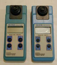 2 Hanna Instruments Hi93703 Microprocessor Turbidity Meter