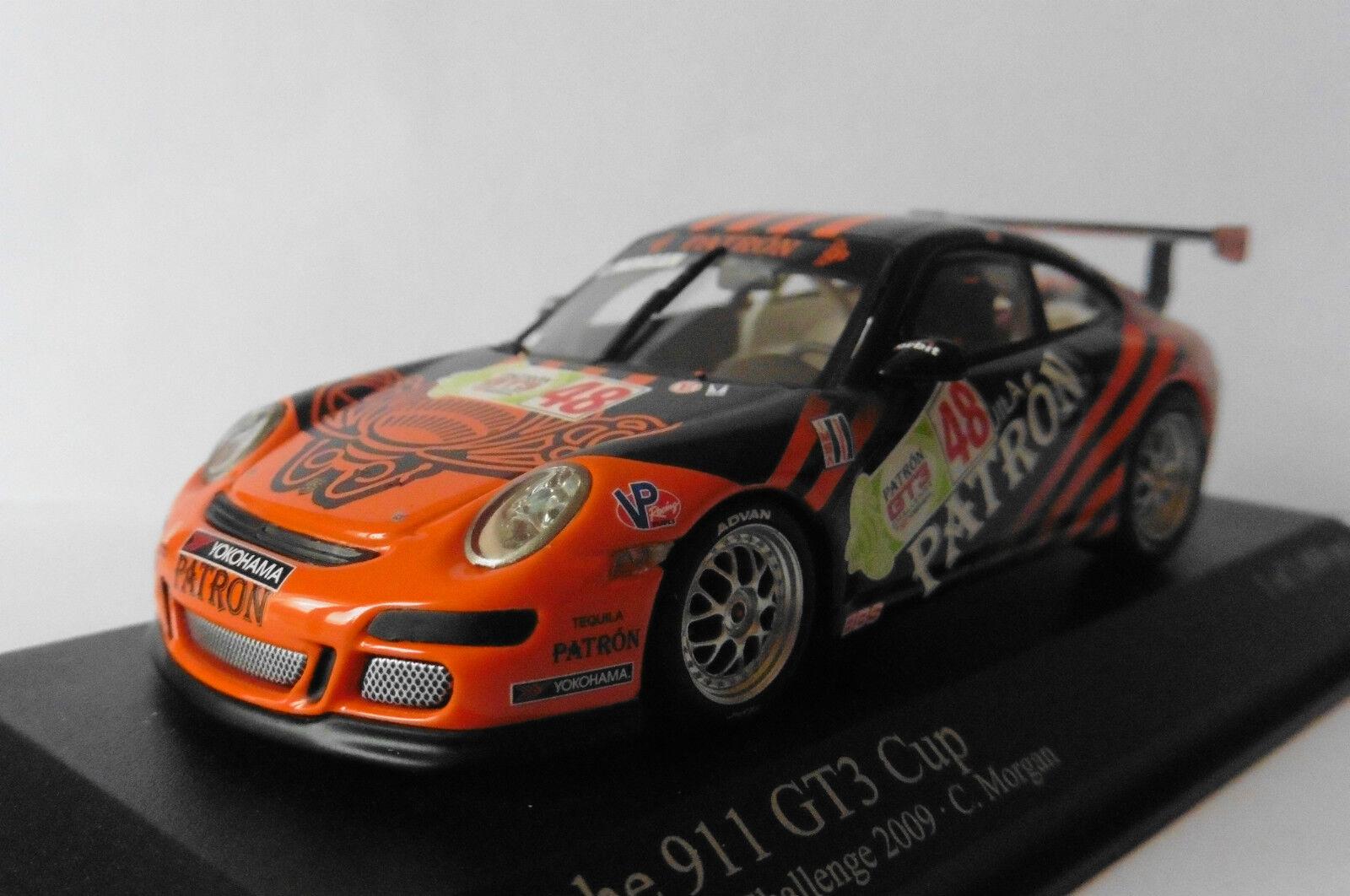 PORSCHE 911 997 GT3 CUP  48 IMSA CHALLENGE 2009 MORGAN MINICHAMPS 400096748 1/43