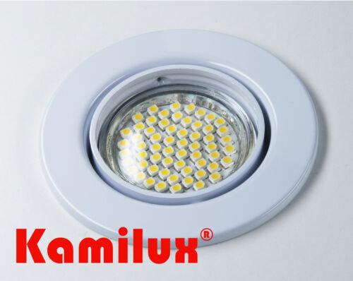 Einbaustrahler Kamilux 60er SMD LED 230V Spot Downlights Strahler Hochvolt GU10