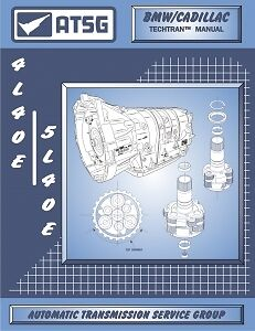 BMW Cadillac THM 4L40-E/5L40-E ATSG MANUAL Repair Rebuild Book Transmission