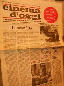 Vecchia-pubblicita-039-CINEMA-D-039-OGGI-ANNO-XXII-N-19-17-11-1988-vintage-COLLEZIONE