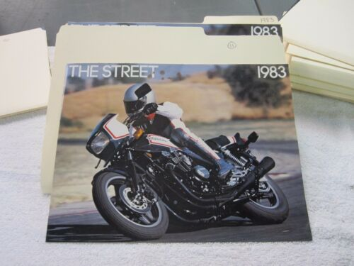 NOS Honda 1983 THE STREET     DEALER SALES BROCHURE