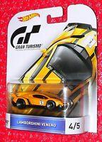 Hot Wheels Gran Turismo Lamborghini Veneno 4 Djf58-l718