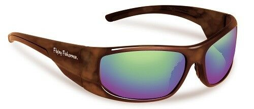 NEW Flying Fisherman Action Angler 7738TA Cape Tortoise / Amber-Green Sunglasses