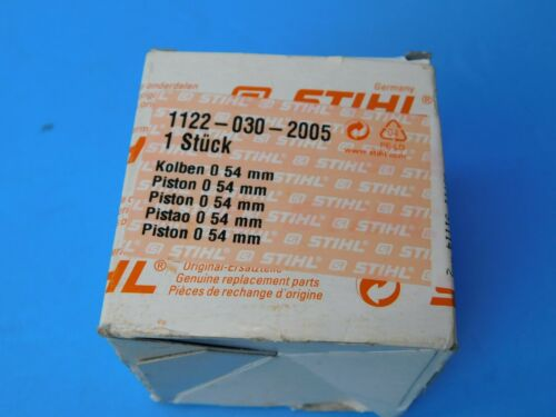 STIHL CHAINSAW 066 MS660 PISTON AND RINGS NEW OEM STIHL 54MM # 1122 030 2005