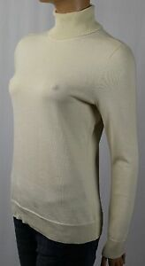Ralph Lauren Cream Turtleneck Cotton Sweater NWT