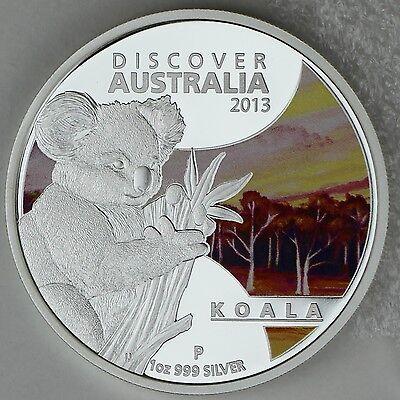 2013 Discover Australia kookaburra 1oz 99.9 silver proof coin perth mint