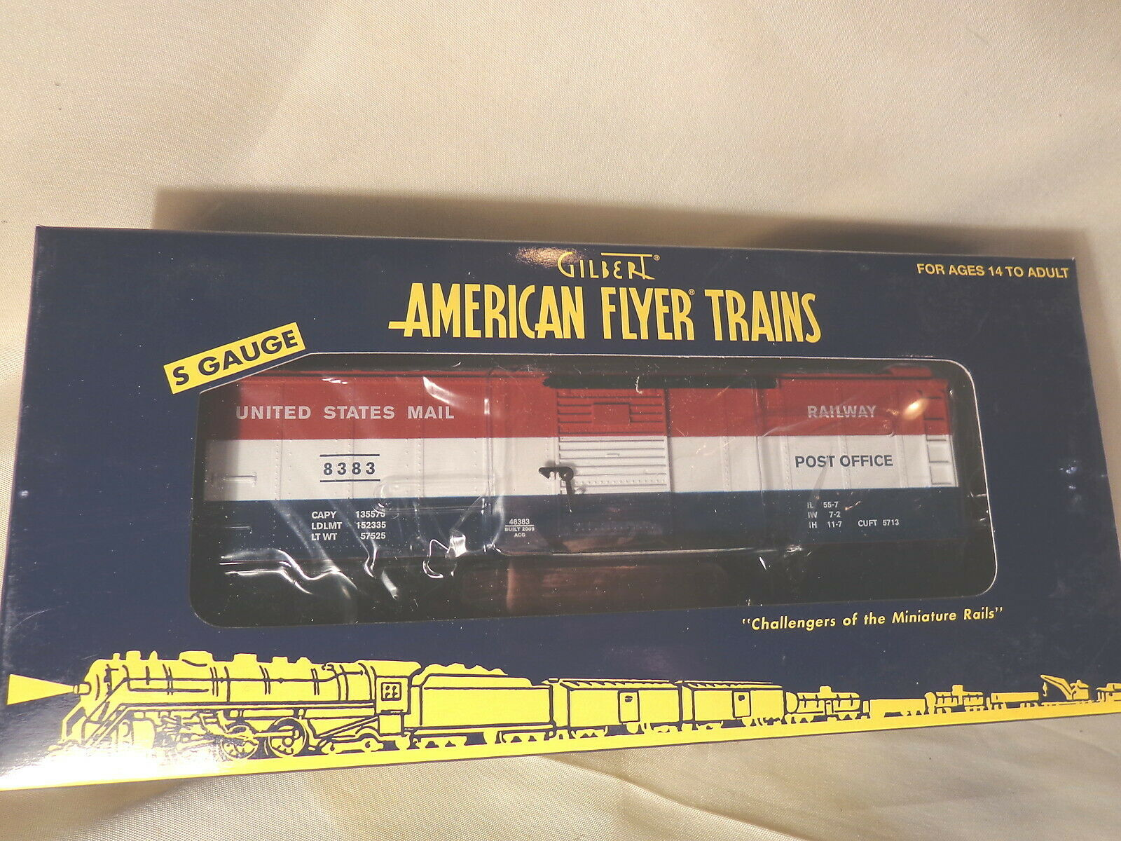 American Flyer 6-48383  U.S. POST OFFICE Boxcar    S Gauge   Box