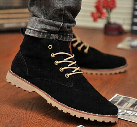 New 2018 Nubuck Leather shoes men sneaker Flats shoes breathable casual shoes A