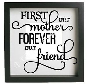 Always My Mother Forever My Friend Vinyl Sticker Decal Fits Ikea Ribba Frame