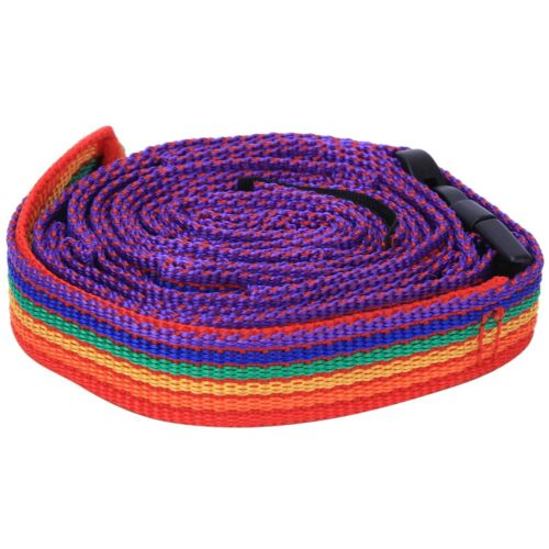 Outdoor Colorful Tent Storage Hanging Rope Clothesline /& Storage Bag for Camping