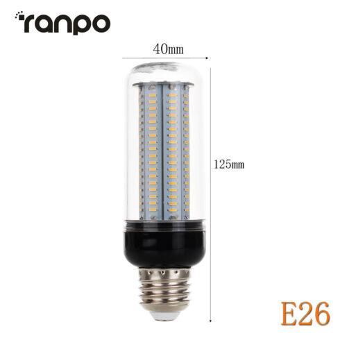 LED Corn Light Bulbs E26 E27 E14 B22 30W 4014 SMD 162LEDS Lamp 70W Equivalent RD