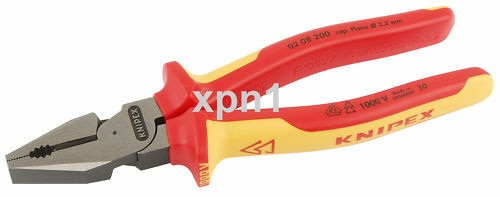 Wiha 38856 High Leverage Combination Pliers 225mm VDE Insulated 35465 FREE P/&P