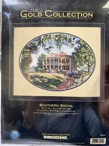 Dimensions GOLD Cross Stitch Kit SOUTHERN SOCIAL #35010 by James Himsworth USA