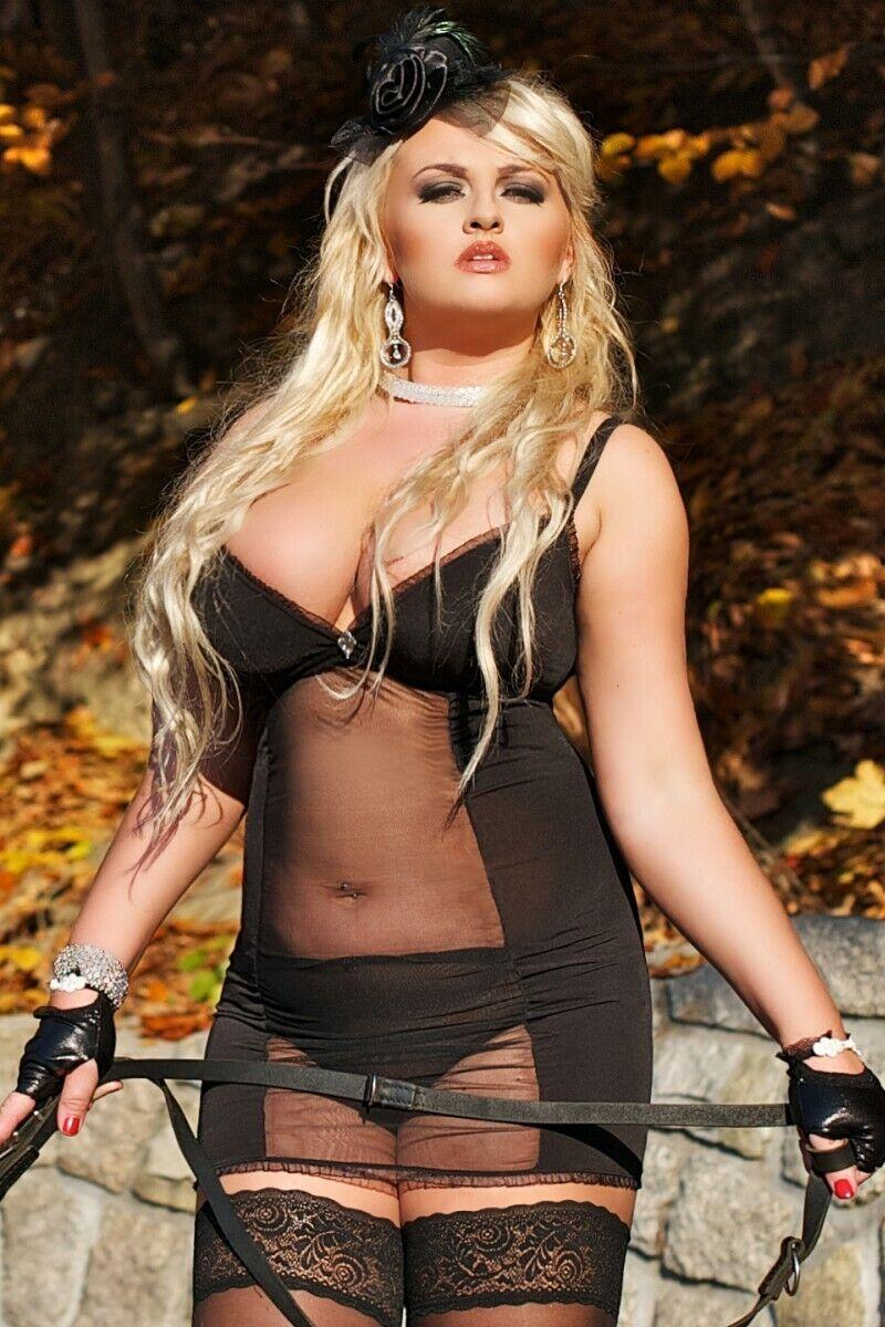 Andalea Andalea Andalea - schwarz transparentes Kleid S 3028 Domina 42 44 Dessous | Vielfältiges neues Design  | Verpackungsvielfalt  | Niedriger Preis  | Clever und praktisch  | eine breite Palette von Produkten  818d49