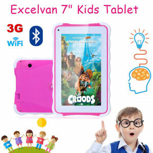 7Zoll-8GB-Excelvan-1024-600-Kinder-Tablet-PC-Android-4-4-Kamera-WIFI-3G-Child-DE
