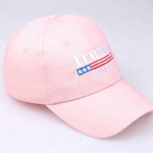 Trump 2020 President Make America Great Again MAGA Baseball Cap Hat Pink Hot LN