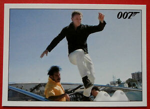 JAMES BOND  Quantum of Solace  Card 026  Bond Borrows a Motorboat - <span itemprop='availableAtOrFrom'>Hexham, United Kingdom</span> - JAMES BOND  Quantum of Solace  Card 026  Bond Borrows a Motorboat - Hexham, United Kingdom