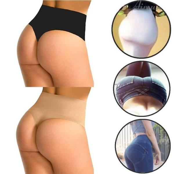 Damen Shapewear Bauchweg Unterwäsche Shaper Miederslip Body Figurformende Slips