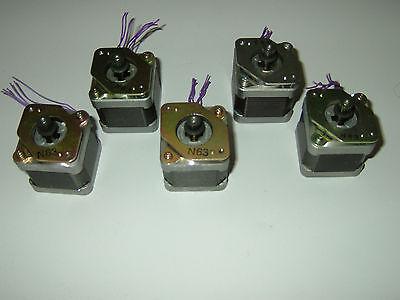 5 x NEMA 17 Stepper motor -Sanyo Denki CNC ROUTER MILL ROBOT REPRAP 3D Print 841