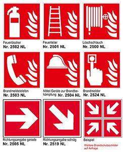Außen- & Türdekoration Feuerschutz Feuerlöscher-schild-2 Größen-nachleuchtend-feuer-brand-warnschild-hinweisschild Fabriken Und Minen