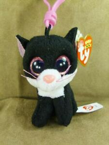 TY Beanie Boos PEPPER The Cat Key Clip RETIRED Mint With Mint Tags ... 04cf77644e2e