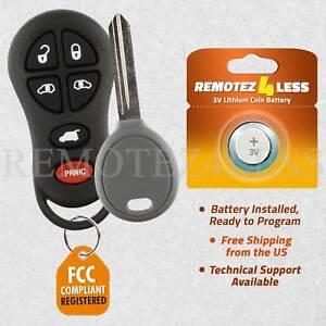 2 Replacement for 2001 2002 2003 Dodge Grand Caravan Remote Car Keyless Key Fob