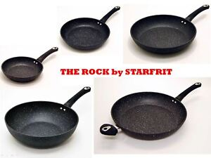 The-ROCK-by-Starfrit-Non-Stick-Cookware-20-24-28-32-cms-Frying-Pan-or-28-cms-Wok
