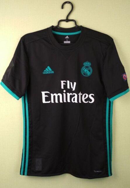 04dfb4206 Real Madrid shirt SMALL 17 18 Away Jersey Adidas football soccer BR3543  92  TC