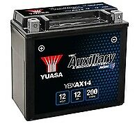 Yuasa YBXAX14 Auxiliary Battery