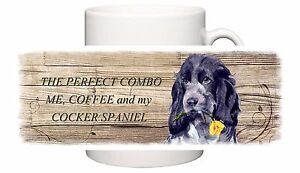 COCKER-SPANIEL-BLUE-ROAN-DOG-NEW-MUG-COMBO-SANDRA-COEN-ARTIST-WATERCOLOUR-PRINT