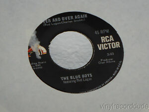 THE-BLUE-BOYS-Over-And-Over-Again-Those-Evening-Bells-7-034-45-RCA-47-8687-VG