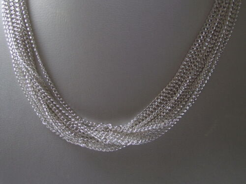 Trace Necklace Pendant Locket Chains UK Wholesale Jewellery Silver Link Curb