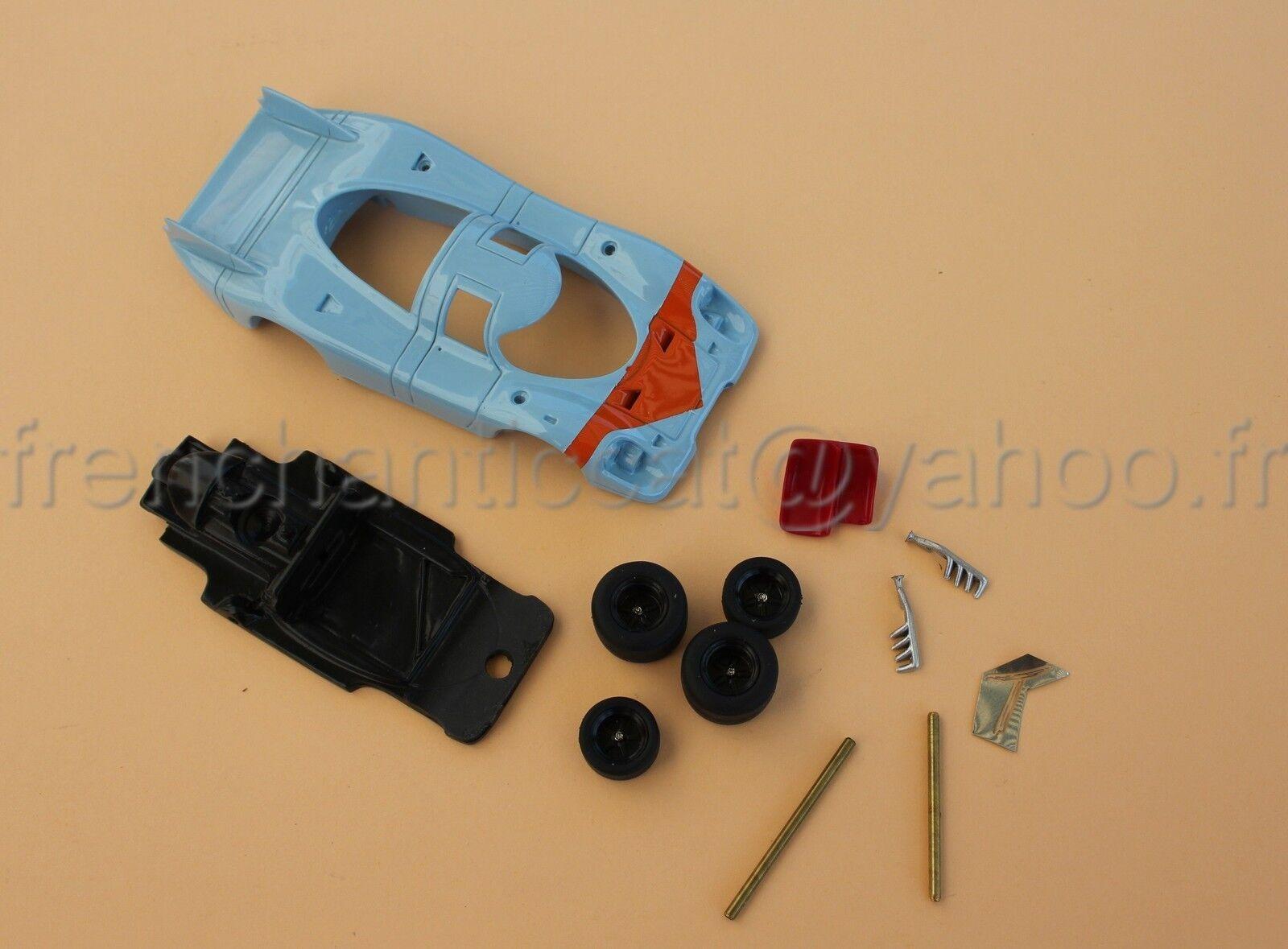 DA Voiture PORSCHE 917 bleu Orange 1 43 Heco miniatures  le mans diorama course
