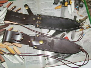 SOLINGEN COUTEAU FOURREAU POUR Hubertus couteau chasse. Pour SOLINGEN COUTEAU, etc..