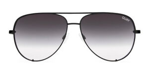 Quay 9343963015409 High Key Aviator Sunglasses - Black