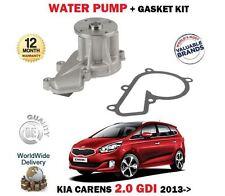 FOR KIA CARENS 2.0 GDI G4NC 2013--  NEW WATER PUMP + GASKET SET