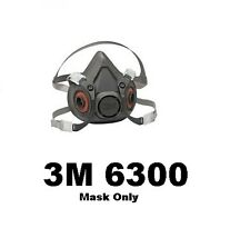 3M 6300/07025 HALF FACEPIECE REUSABLE RESPIRATOR SIZE LARGE (MASK ONLY)