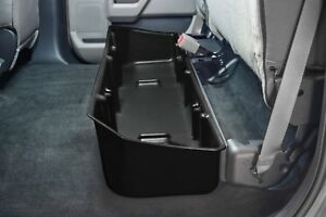 Du Ha 20110 Black Under Rear Seat Storage For Ford F150 Crew Cab