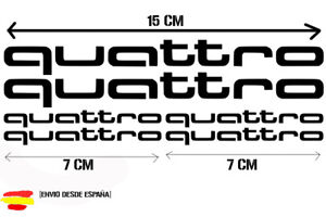 Audi-quattro-kit-de-6-Tuning-sticker-auto-Fun-pegatinas-sticker-Bomb
