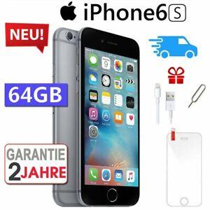 NEU-Apple-iPhone-6S-64GB-Spacegrau-Smartphone-Handy-Ohne-Simlock-Aktion