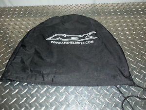 AFX Drawstring Face Shield Bag Black