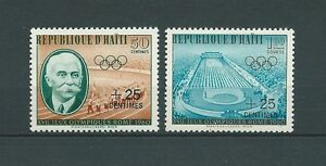 HAITI-1960-MI-636-a-637-TIMBRES-NEUFS-MNH-LUXE