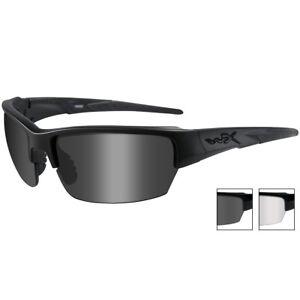 e6dc6f6fc7b3 Wiley X Wx Saint Glasses Impact Uv Ballistic Smoke Grey Clear Matte ...