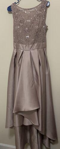 David Bridal Gorgeous Party Gown Color Blush Size