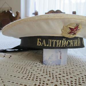 Tellermuetze-Marine-Baltic-Militaer-Russland-UDSSR-CCCP-Gr-54-von-1987